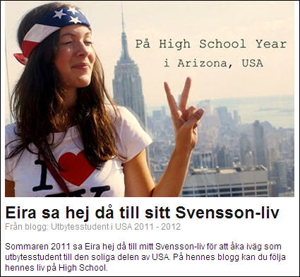 Blogg.se om USA