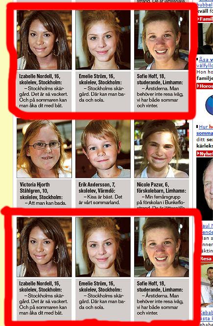 Aftonbladet, tabbe
